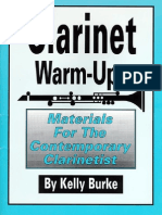Clarinet Warm-ups (Materials for the Contemporary Clarinetist)