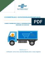 Compras Governamentais. SEBRAE