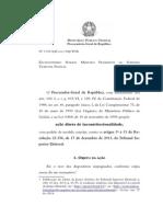 ADI 5104 PGR - Res. TSE - Poderes investigatórios MP