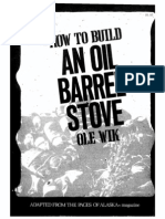 How to Build an Oil Barrel Stove