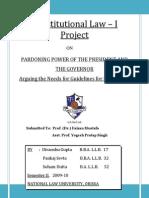 Pardoning Power of President