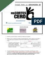 Agrupación Electoral RECORTES CERO - Apoyo en la recogida de avales