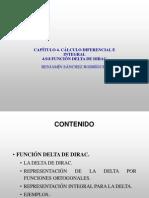 4.9.8 Función delta de Dirac