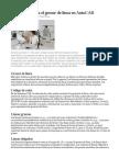 El estándar para el grosor de línea en AutoCAD