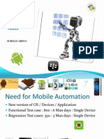 MOBILE AUTOMATION