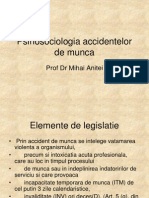 1. Accidente de Munca Legislatie 2009