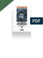 Mcdevitt, Jack - El texto de Hércules nova 26