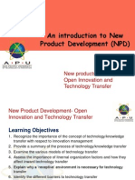 Lecture 10-Open Innovation and Technology Transfer