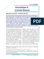Review of the role of macrophages in inflammatory bowel disease
