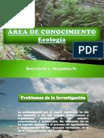 Área de Conocimiento Ecologia