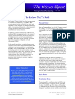 To Roth Or Not To Roth - Kitces Report May 2009