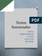 Textos funcionales