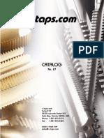 E-taps 2007 Catalog
