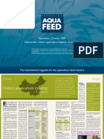 China's aquaculture industry – A snapshot