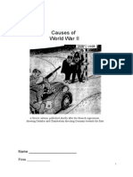 Causes of WW2 (Tasks) Sources Ok