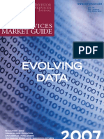 INVESTOR SERVICES JOURNAL DATA SERVICES MARKET GUIDE 2007