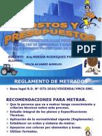 Exposicion Costos y Presupuestos -2014 Para Imprimir