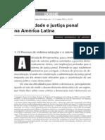 Criminalidade e justiça penal na América Latina - Rodrigo