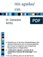 Gastritis Aguda Cronicas
