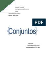 Trabajo de Conjuntos (Matematica Básica) (MA13MOP)