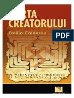 Emilio Calderon - Harta Creatorului (v.1.0)
