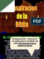 Inspiracion de La Biblia