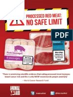 Red meat and bowel cancer