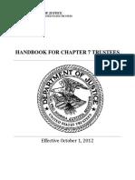 Handbook for Chapter 7 Trustees