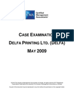 Delfa Printing Ltd. (Delfa) May2009_case Exambook Cma