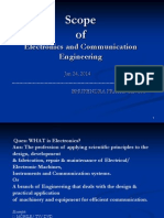 scope of electronics  and  communication