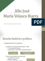 El Caudillo José María Velasco Ibarra