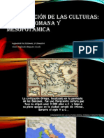 CULTURAS GRIEGA, ROMANA Y MESOPOTÁMICA