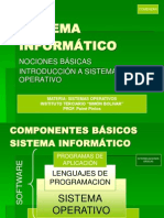 Introduccion Sistema Informatico - 2014