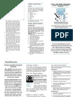 Flood Information Brochure