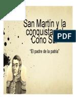 Unidad 4 San Martín y la conquista del Cono Sur - Natalia Jaimes