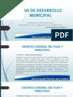 PLAN de DESARROLLO MUNICIPAL Formulacion y Evaluacion de Proyecto