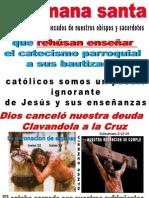 LA SEMANA SANTA PEDIR PERDON POR PECADOS