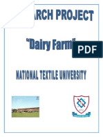 Project on Dairy Farm
