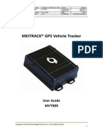 Meitrack Mvt800 User Guide v1.5