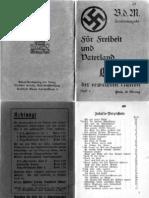 Bund Deutscher Mädel - Lieder der erwachten Nation - Band 6
