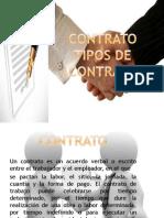 Contrato Tipos de Contrato