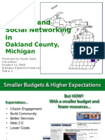 Social Networking at Oakland County, Michigan