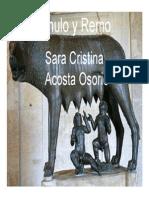 Unidad 5 Rómulo y Remo - Sara Acosta