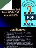 AULA AIDS Treinamento Pessoal ARACATI
