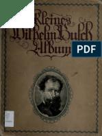 Busch, Wilhelm - Sammlung lustiger Bildergeschichten mit etwa 450 Bildern und farbigem Selbstportrait (1907)