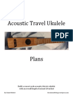 Acoustic Travel Ukulele Plans