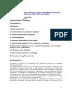 Proyecto Carta Etica 2008