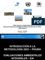 Introduccion Metodologia GEO-PNUMA