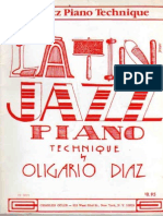 Latin Jazz PianoTechnique