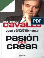 2001 - Cavallo, Domingo - Pasion Por Crear